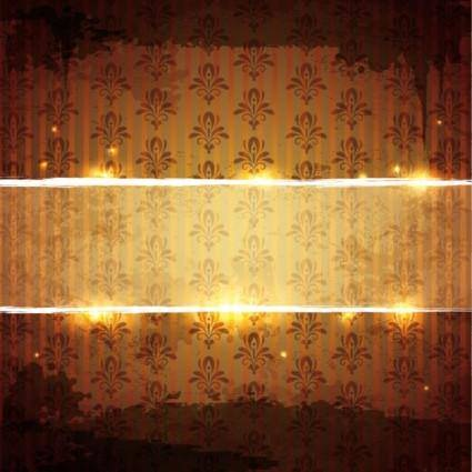 free vector Shining pattern background 02 vector