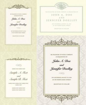 free vector Ornate certificate template vector