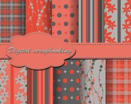 Beautiful wove background vector 3