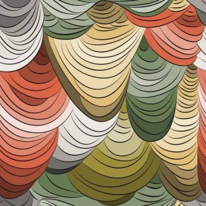 Beautiful pattern background 16 vector