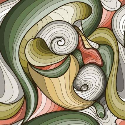Beautiful pattern background 19 vector