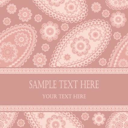 free vector Beautiful pattern background 03 vector