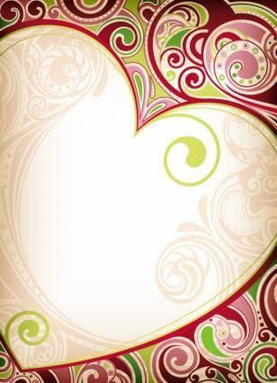 Exquisite pattern background vector