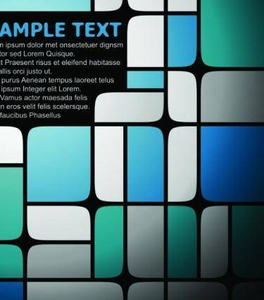 Elegant checkered background text template vector 1