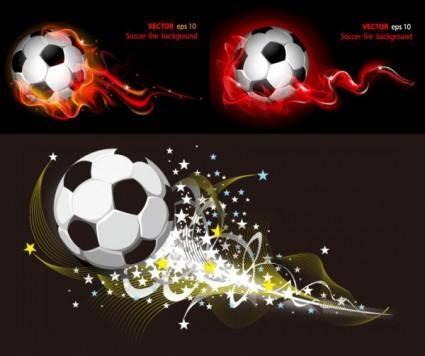 free vector M soccer vector