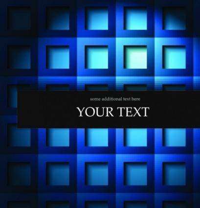 Elegant checkered background text template vector 2