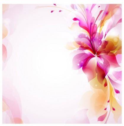 free vector Colorful pattern background 01 vector