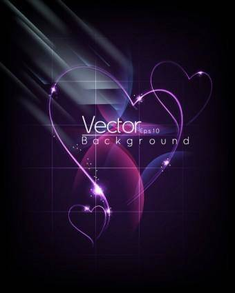 free vector Fashion halo dynamic background 04 vector