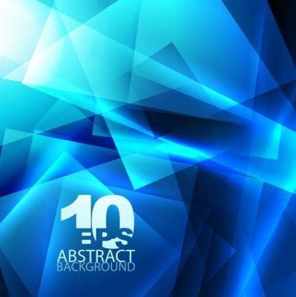 Blue dynamic technology background 02 vector