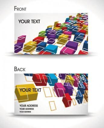 free vector Dynamic gorgeous card background 04 vector