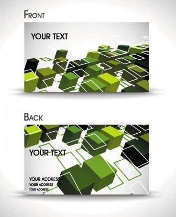 free vector Dynamic gorgeous card background 05 vector