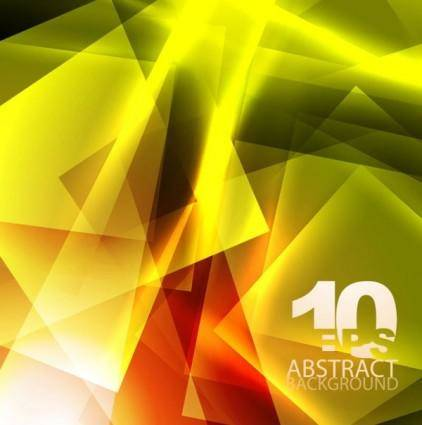 free vector Yellow dynamic background 03 vector