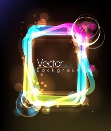 Fashion halo dynamic background 01 vector