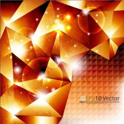 Bright trend halo background 02 vector