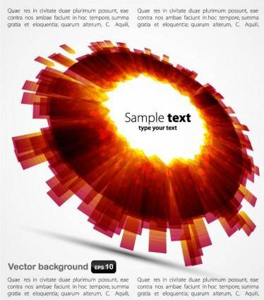 Colorful background 03 vector 15414