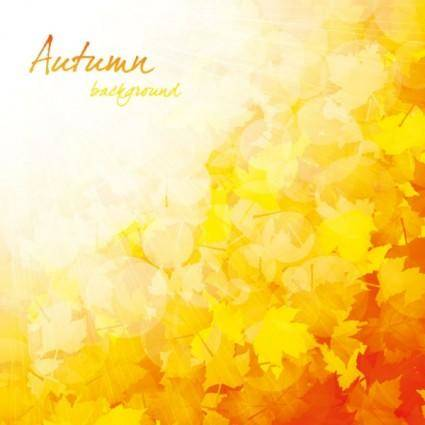 free vector Beautiful autumn background 03 vector