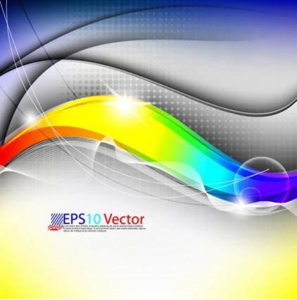 free vector Colorful trend background 01 vector