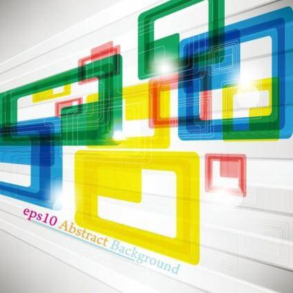 free vector Colorful trend background 04 vector