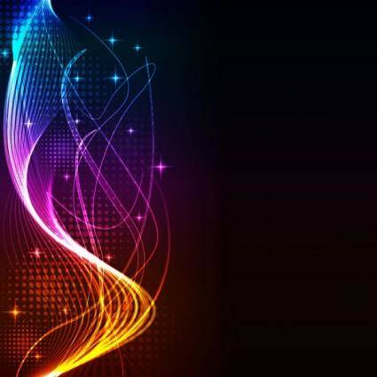free vector Fashion light background 02 vector