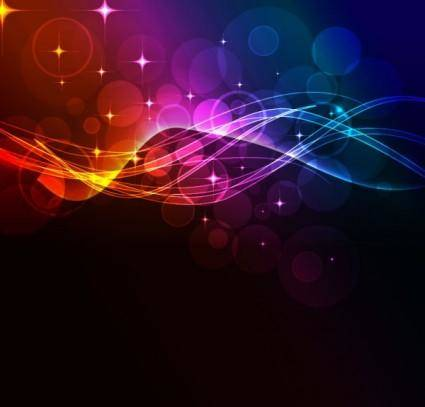 Fashion light background 04 vector