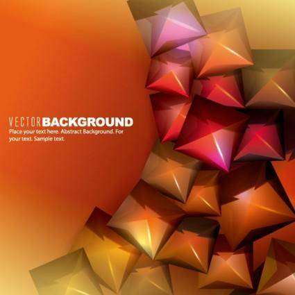 Trend background 02 vector