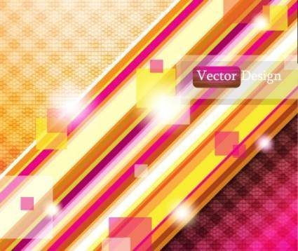 free vector Dynamic flow line background 02 vector