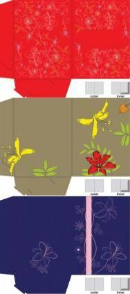 Gift boxes plane resolution map vector