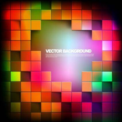 free vector Gorgeous box background 03 vector