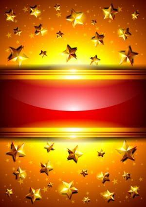 free vector Brilliant halo background 02 vector