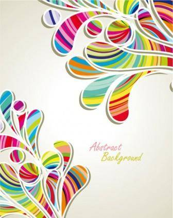 free vector Fashion pattern background 04 vector