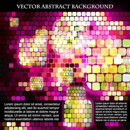 free vector Sense of science and technology background grid vector