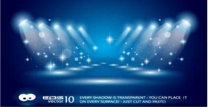 free vector Background lighting vector
