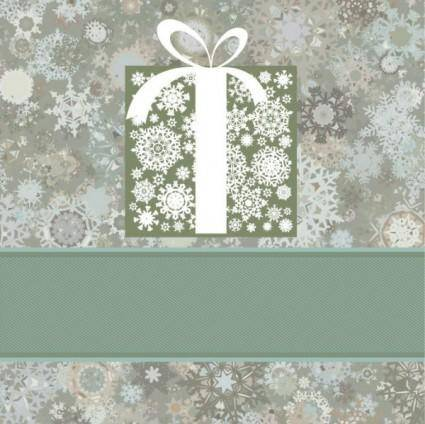 Beautiful snowflake background 03 vector
