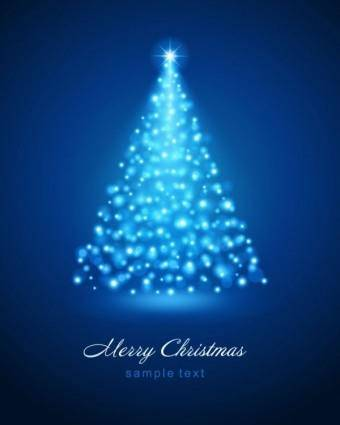 free vector Bright christmas background 01 vector