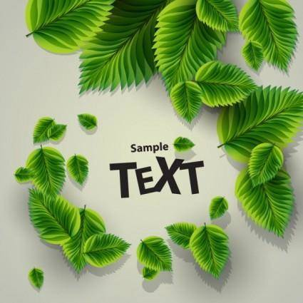 free vector Beautiful green background 02 vector