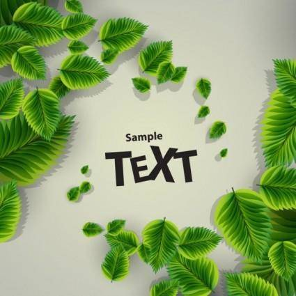 free vector Beautiful green background 03 vector
