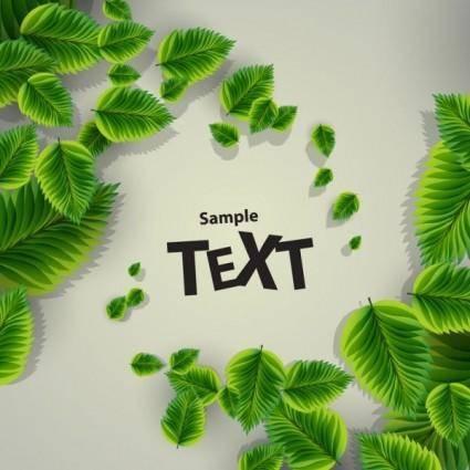 Beautiful green background 03 vector