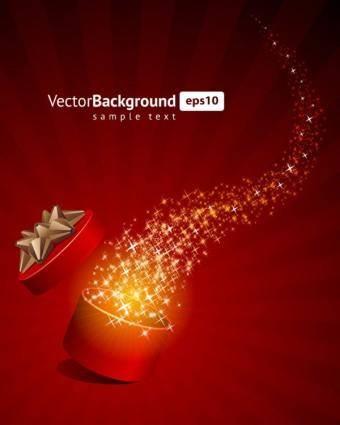 Gorgeous festive background 01 vector