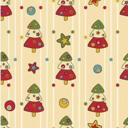free vector Cartoon christmas design background 04 vector