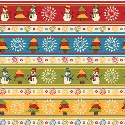 free vector Cartoon christmas design background 05 vector