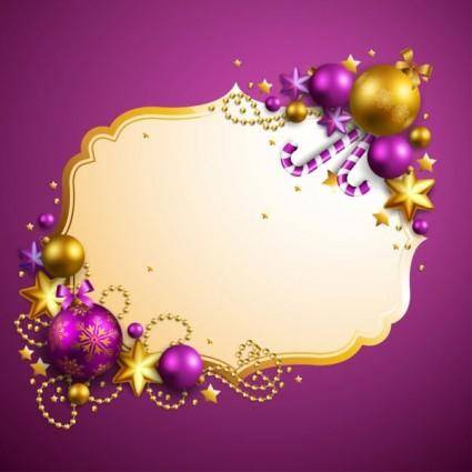 Beautiful christmas background 03 vector