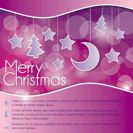 free vector Christmas decoration background 01 vector