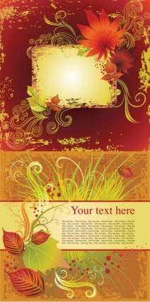 Beautiful poster vector