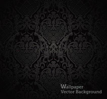 Solemn shading background 04 vector