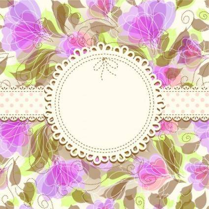 Fine pattern background 02 vector