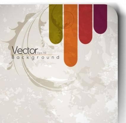 free vector Retro pattern background 01 vector