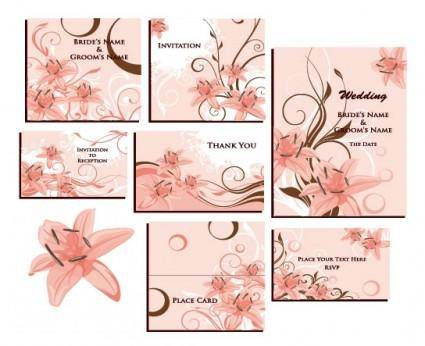 free vector Beautiful wreath vector