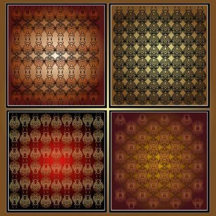 free vector Gorgeous shading background 04 vector
