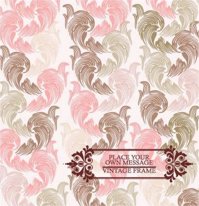Pink pattern background 03 vector