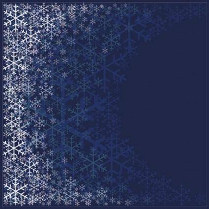 free vector Beautiful snowflake pattern background 01 vector